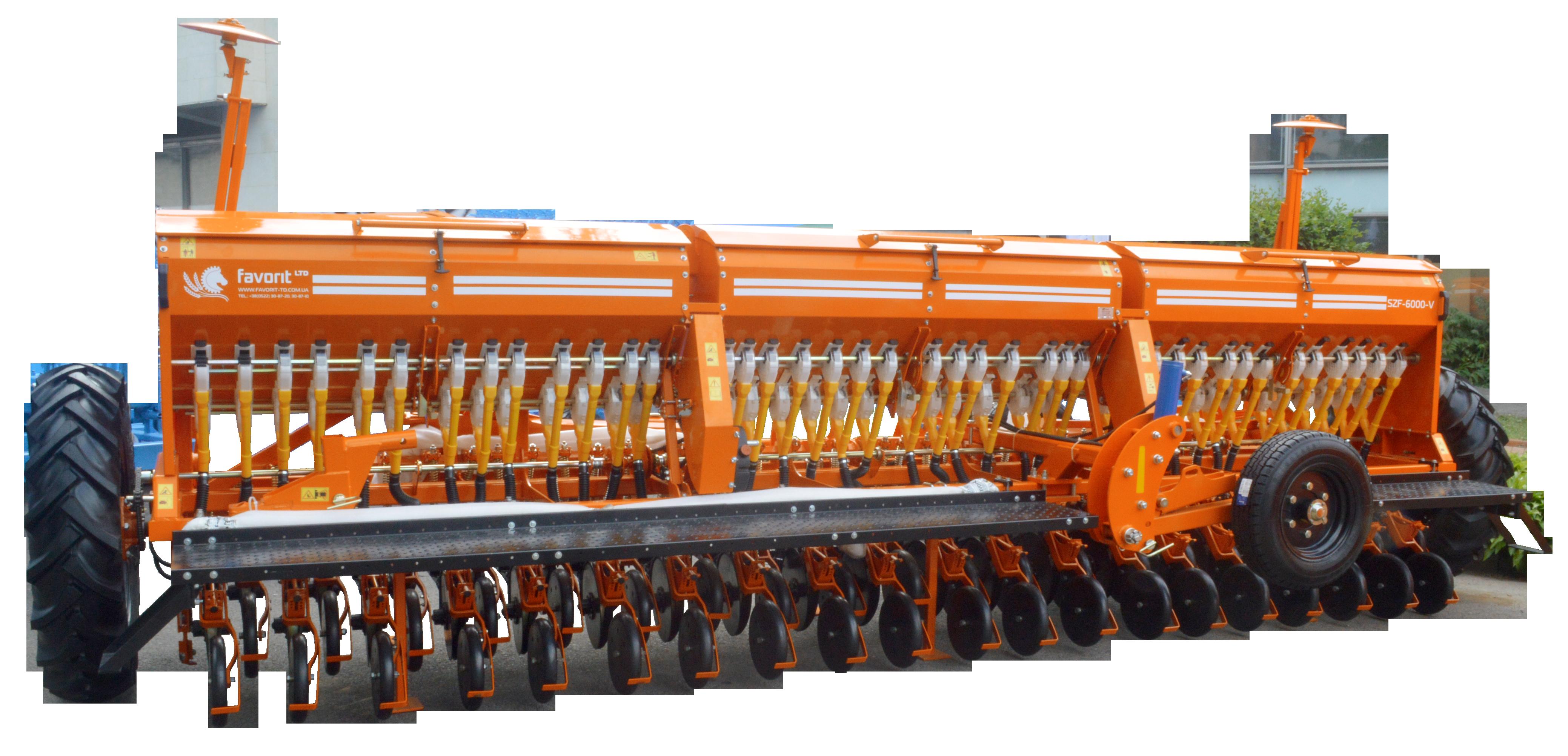 Сеялка зерновая СЗФ 6000-V (вариаторная)