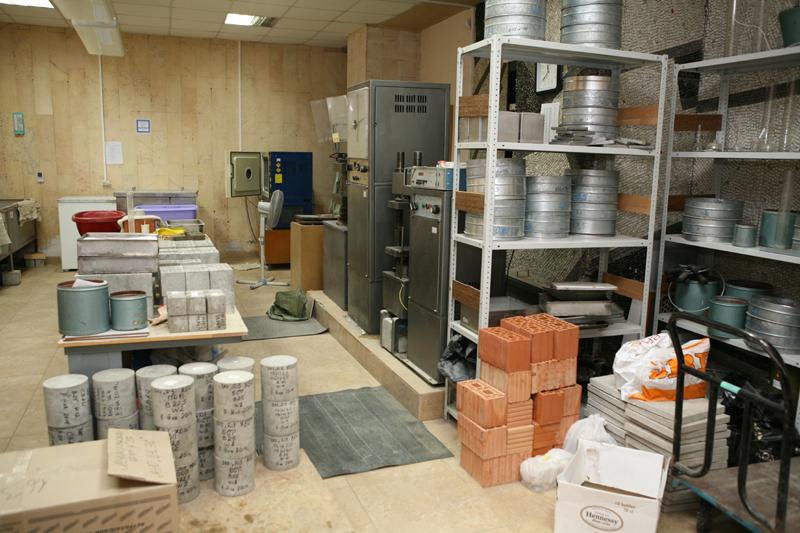 Испытания строительной продукции