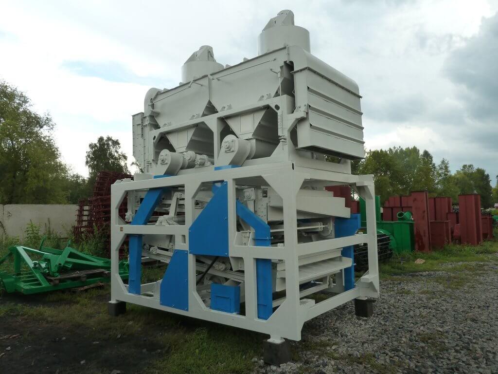 Орловские машины. Новейшие технологии для очистки зерна